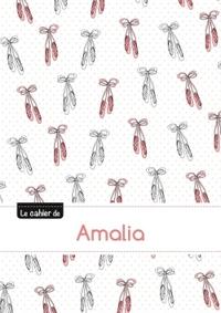 LE CAHIER D'AMALIA - BLANC, 96P, A5 - BALLERINE