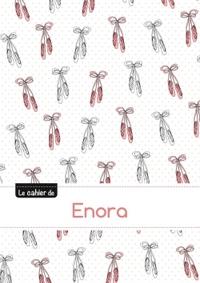 LE CAHIER D'ENORA - BLANC, 96P, A5 - BALLERINE