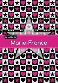 CAHIER MARIE FRANCE PTSCX,96P,A5 ETOILEETCOEUR
