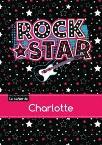 LE CAHIER DE CHARLOTTE - BLANC, 96P, A5 - ROCK STAR