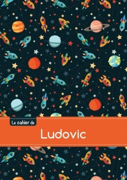 CAHIER LUDOVIC SEYES,96P,A5 ESPACE