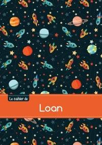 LE CAHIER DE LOAN - BLANC, 96P, A5 - ESPACE