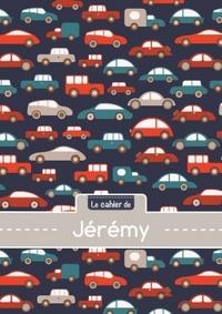 LE CAHIER DE JEREMY - BLANC, 96P, A5 - VOITURES