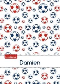 LE CAHIER DE DAMIEN - PETITS CARREAUX, 96P, A5 - FOOTBALL PARIS