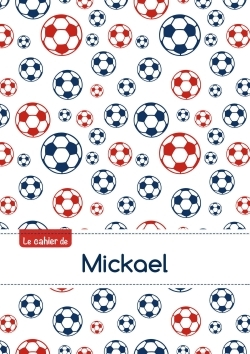 CAHIER MICKAEL BLANC,96P,A5 FOOTBALLPARIS
