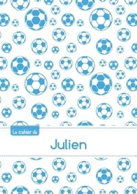 LE CAHIER DE JULIEN - BLANC, 96P, A5 - FOOTBALL MARSEILLE