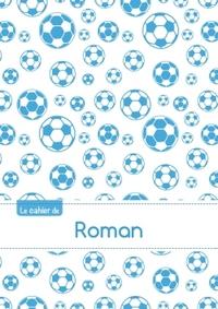 CAHIER ROMAN BLANC,96P,A5 FOOTBALLMARSEILLE