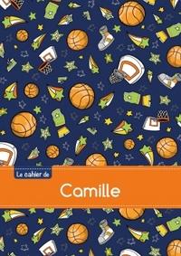 LE CAHIER DE CAMILLE - BLANC, 96P, A5 - BASKETBALL