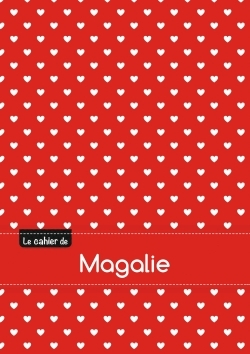 CAHIER MAGALIE SEYES,96P,A5 PETITSCOEURS