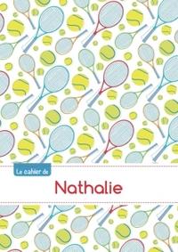 CAHIER NATHALIE SEYES,96P,A5 TENNIS