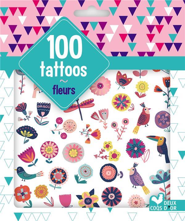 100 TATTOOS FLEURS