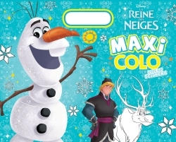 OLAF , LA REINES DES NEIGES , GRAND TOP COLO