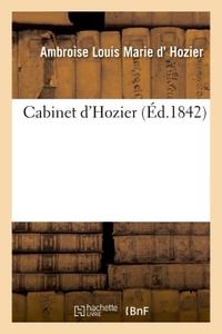 CABINET D'HOZIER