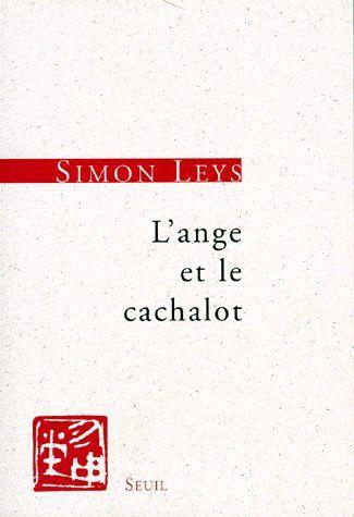 L'ANGE ET LE CACHALOT. ESSAIS