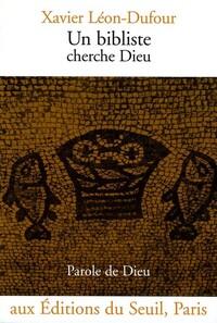 UN BIBLISTE CHERCHE DIEU