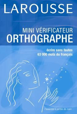 MINI VERIFICATEUR ORTHOGRAPHE