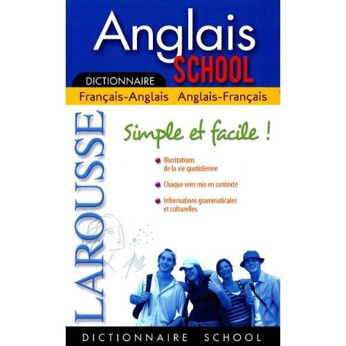 LAROUSSE SCHOOL FRANCAIS-ANGLAIS QUEBEC