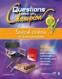 QUESTIONS POUR UN CHAMPION, SPECIAL CINEMA ET DIVERTISSEMENTS