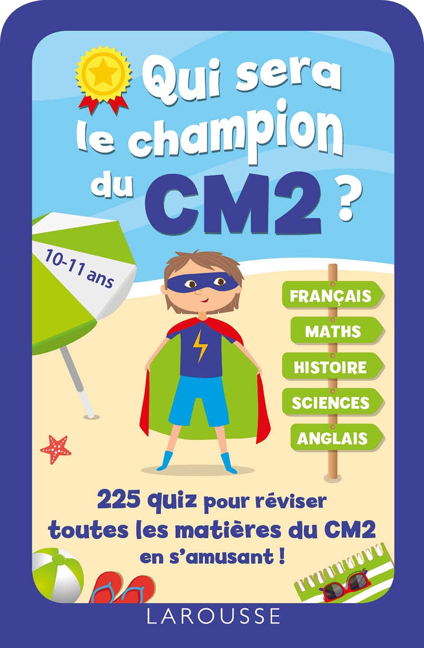 QUI SERA LE CHAMPION DU CM2 ?