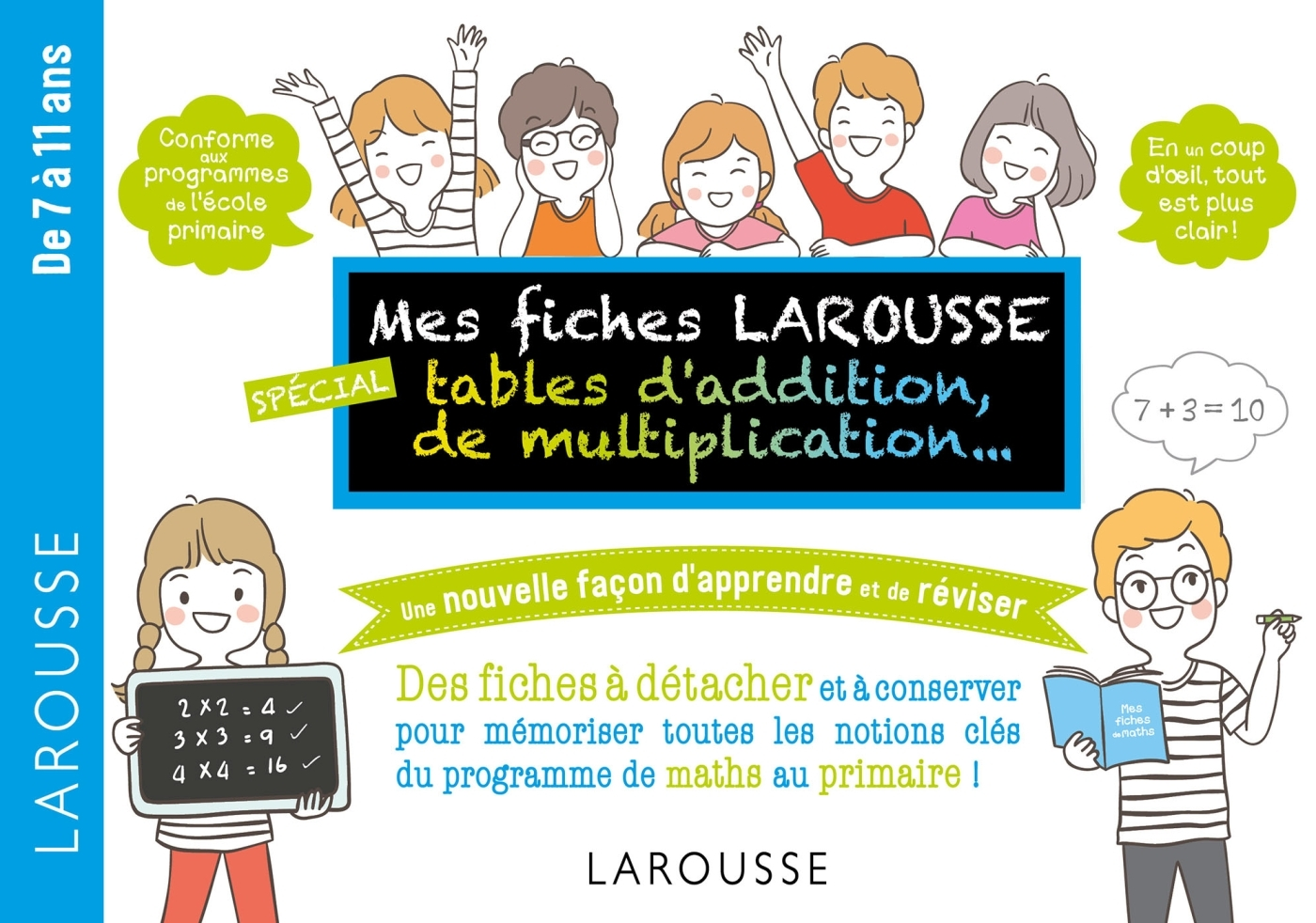 MES FICHES LAROUSSE, SPECIALES ADDITIONS, MULTIPLICATIONS, ...