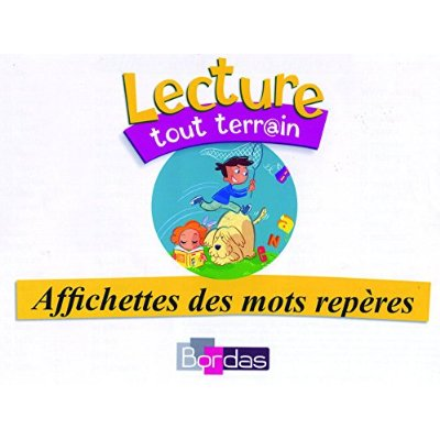 LOT AFFICHES MOTS REPERES CP