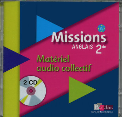MISSIONS ANGLAIS 2D 2CD