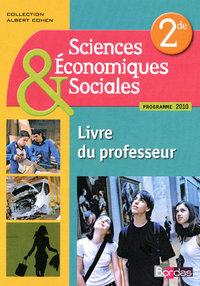S.E.S. 2DE LIVRE DU PROF 2010