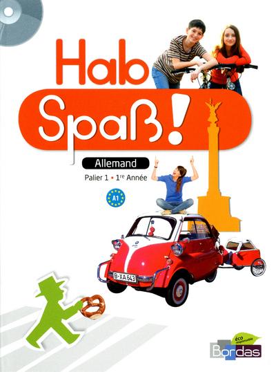 HAB SPASS ALLEMAND NIV 1 LIV+CD
