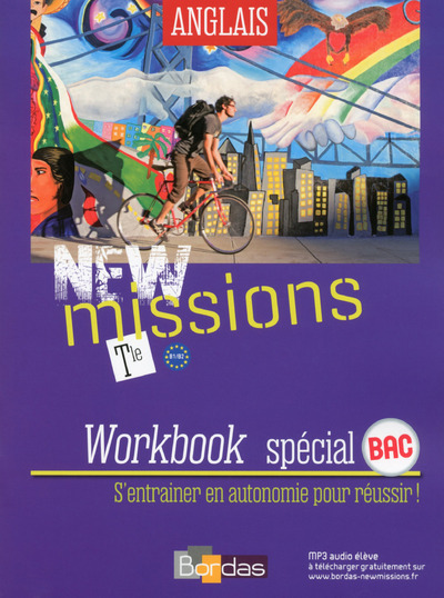 NEW MISSIONS ANGLAIS TLE 2016 WORBOOK ELEVE