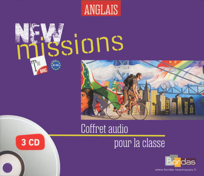 NEW MISSIONS ANGLAIS TLE 2016 MATERIEL AUDIO COLLECTIF
