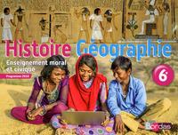 HISTOIRE GEOGRAPHIE EDUCATION CIVIQUE 6EME 2016 MANUEL ELEVE