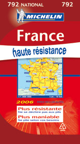 CARTE NATIONAL 792 FRANCE HAUTE RESISTANCE 2006