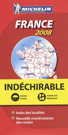 AED FRANCE (INDECHIRABLE) 2008  1/1M