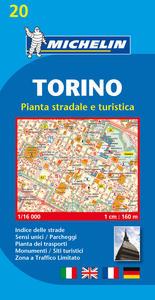 PIANTA TORINO STRADALE E TURISTICA
