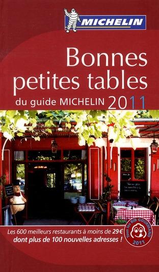 BONNE PETITES TABLES 2011