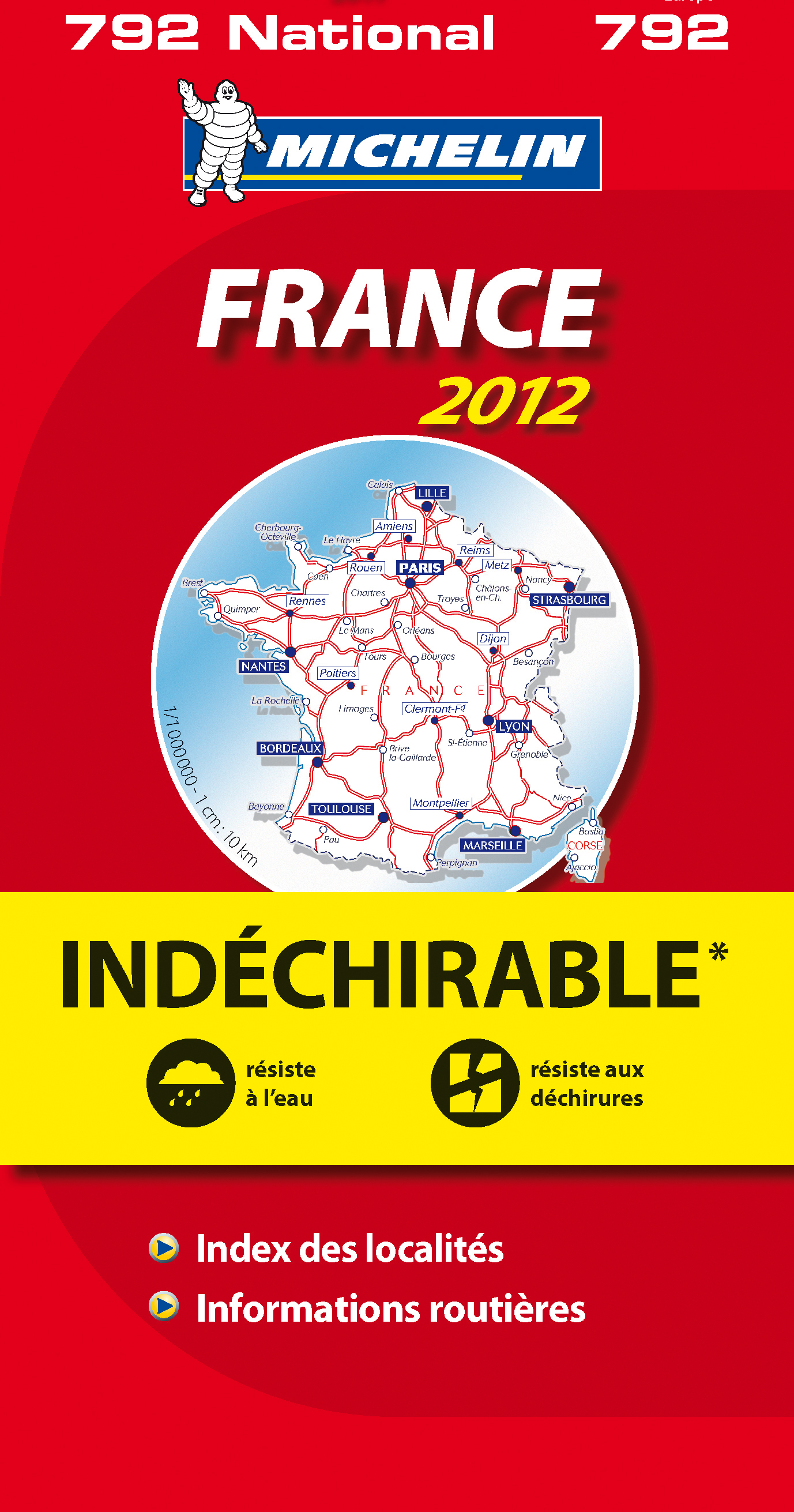 CN 792 FRANCE INDECHIRABLE 2012