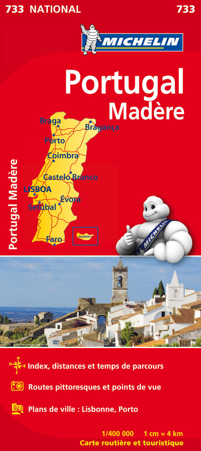 CARTE NATIONALE 733 PORTUGAL MADERE