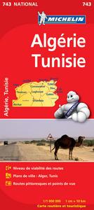 CARTE NATIONALE 743 ALGERIE TUNISIE