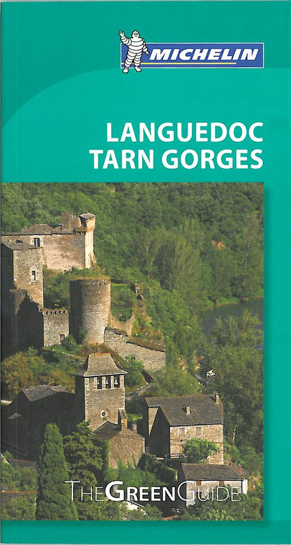GUIDE VERT (ANG) LANGUEDOC GORGES DU TARN