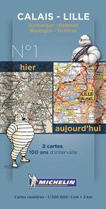 CARTE HISTORIQUE CALAIS LILLE