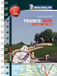MINI ATLAS FRANCE PLASTIFIE 2015