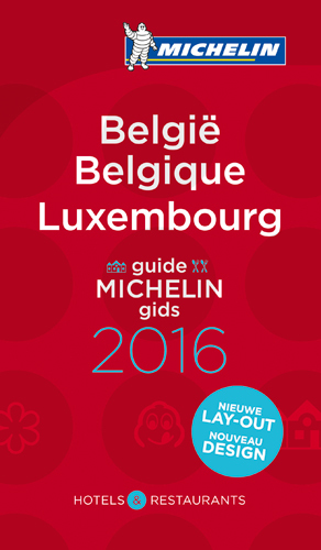 BELGIQUE BELGIE LUXEMBOURG - GUIDE MICHELIN GIDS 2016