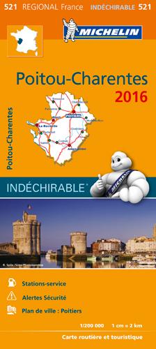 CARTE REGIONALE 521 POITOU - CHARENTES 2016