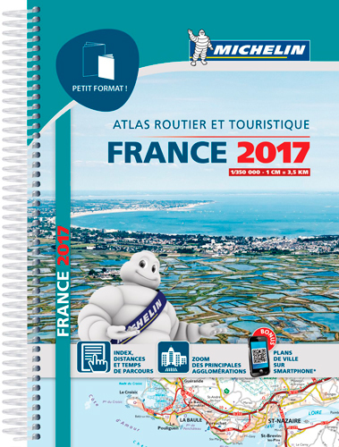 ATLAS FRANCE 2017 PETIT FORMAT
