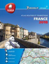 ATLAS ROUTIER FRANCE 2018 - TOUS LES SERVICES UTILES (A4-MULIFLEX)