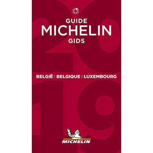 BELGIE BELGIQUE LUXEMBOURG - GUIDE MICHELIN GIDS 2019