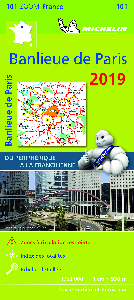 CARTE ZOOM 101 BANLIEUE DE PARIS 2019