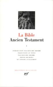 LA BIBLE (TOME 1) - ANCIEN TESTAMENT