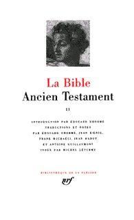 LA BIBLE (TOME 2) - ANCIEN TESTAMENT