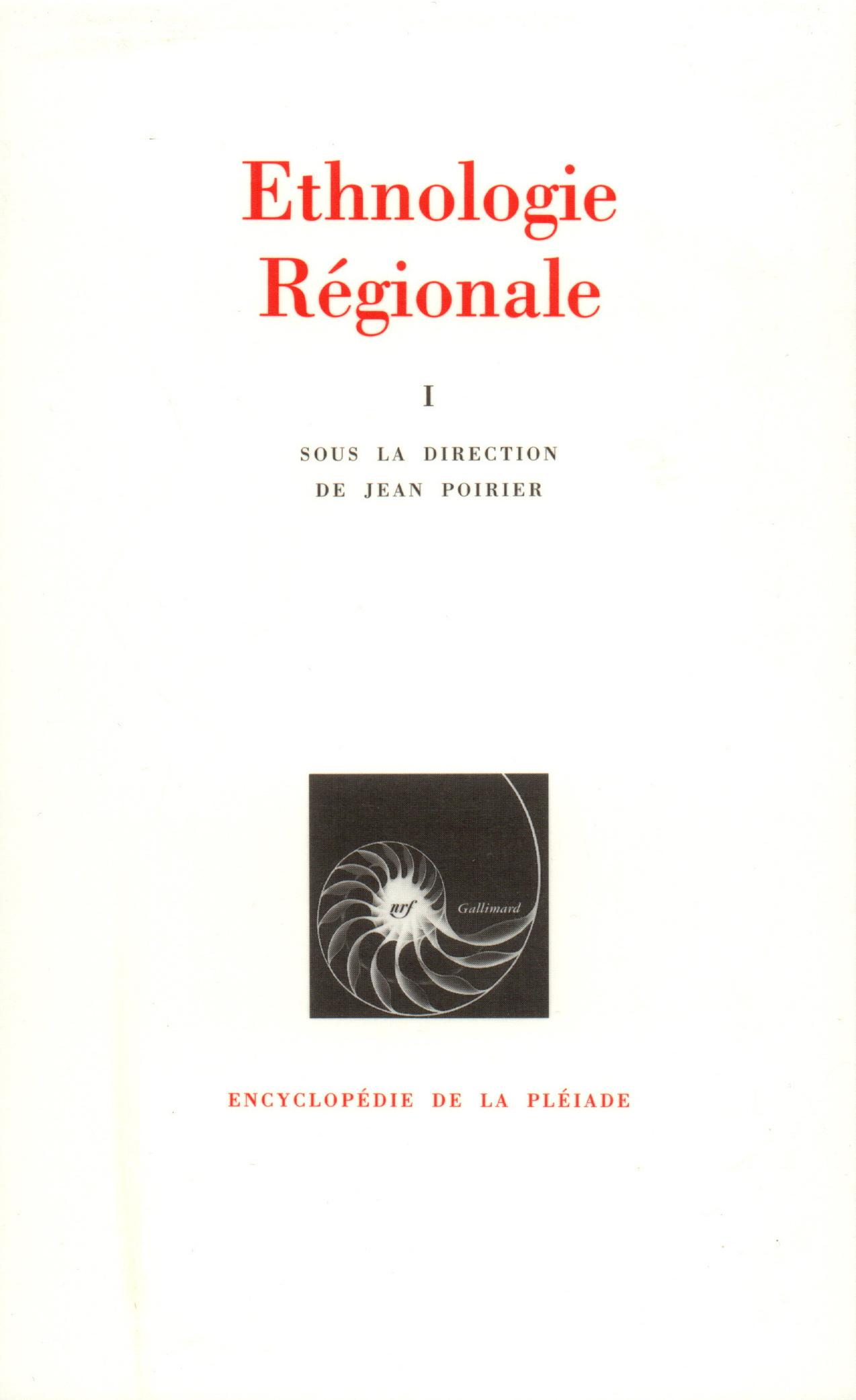 ETHNOLOGIE REGIONALE T1